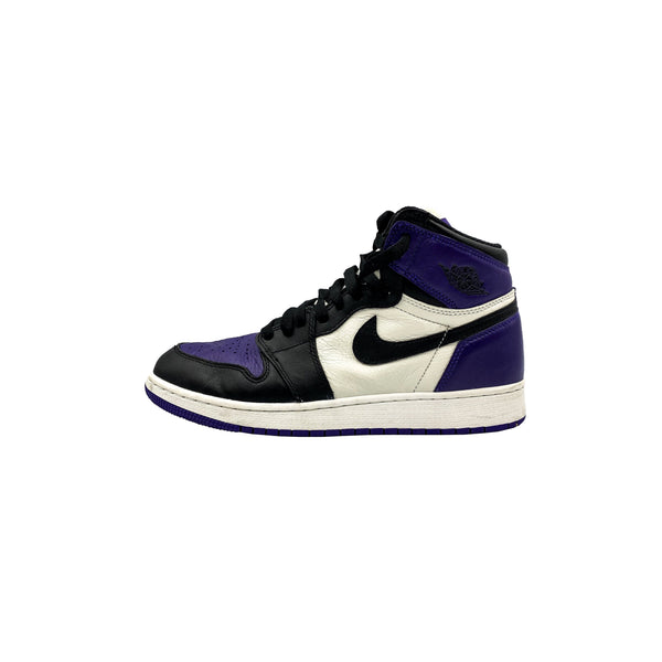 "AIR JORDAN 1 RETRO HIGH ""COURT PURPLE"" GS"