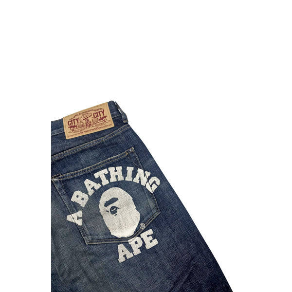 2010 A BATHING APE JEANS
