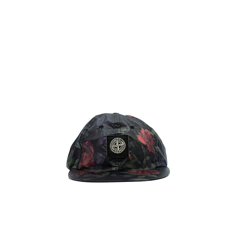 SUPREME X STONE ISLAND LAMY 6-PANEL BLACK