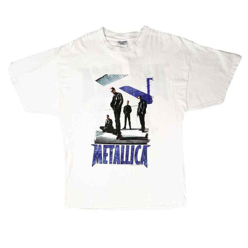 1998 METALLICA RELOAD TEE WHITE