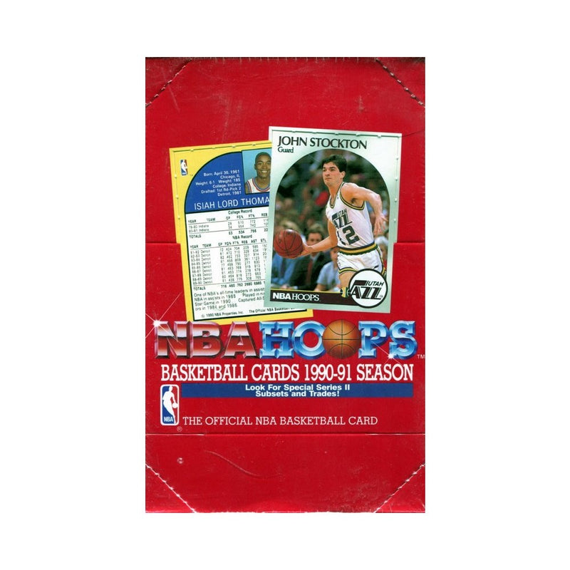 1990-1991 VINTAGE NBA HOOPS TRADING CARDS