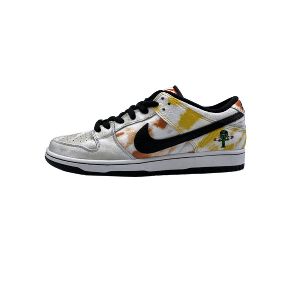 NIKE SB DUNK LOW RAYGUN TIE DYE WHITE