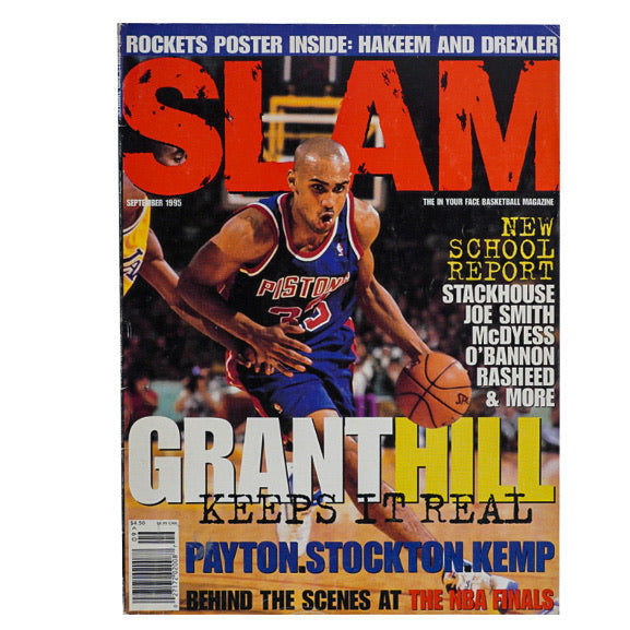 1995 VINTAGE SLAM MAGAZINE NO.7