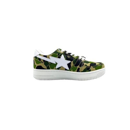 A BATHING APE BAPESTA ABC CAMO 20TH ANNIVERSARY GREEN