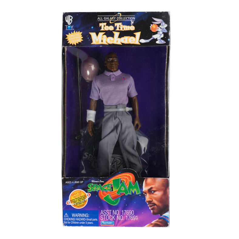 1996 VINTAGE SPACE JAM MICHAEL JORDAN TEE TIME FIGURE