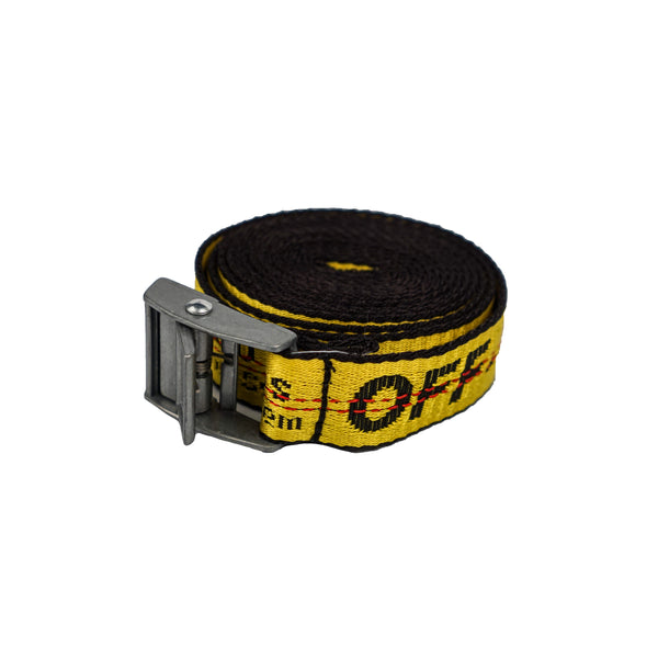 OFF-WHITE INDUSTRIAL BELT YELLOW MINI
