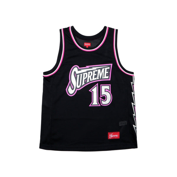 SUPREME BOLT BASKETBALL JERSEY BLACK