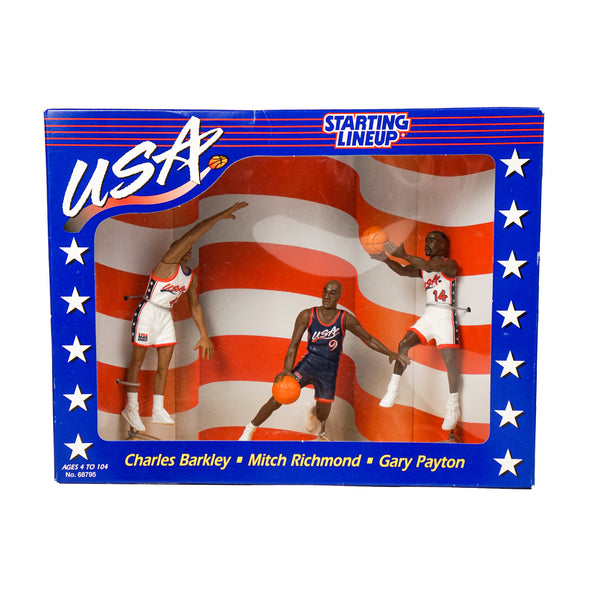 1996 VINTAGE STARTING LINEUP USA DREAM TEAM COLLECTION 3