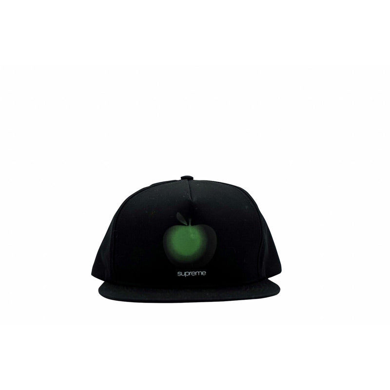 SUPREME APPLE 5-PANEL BLACK