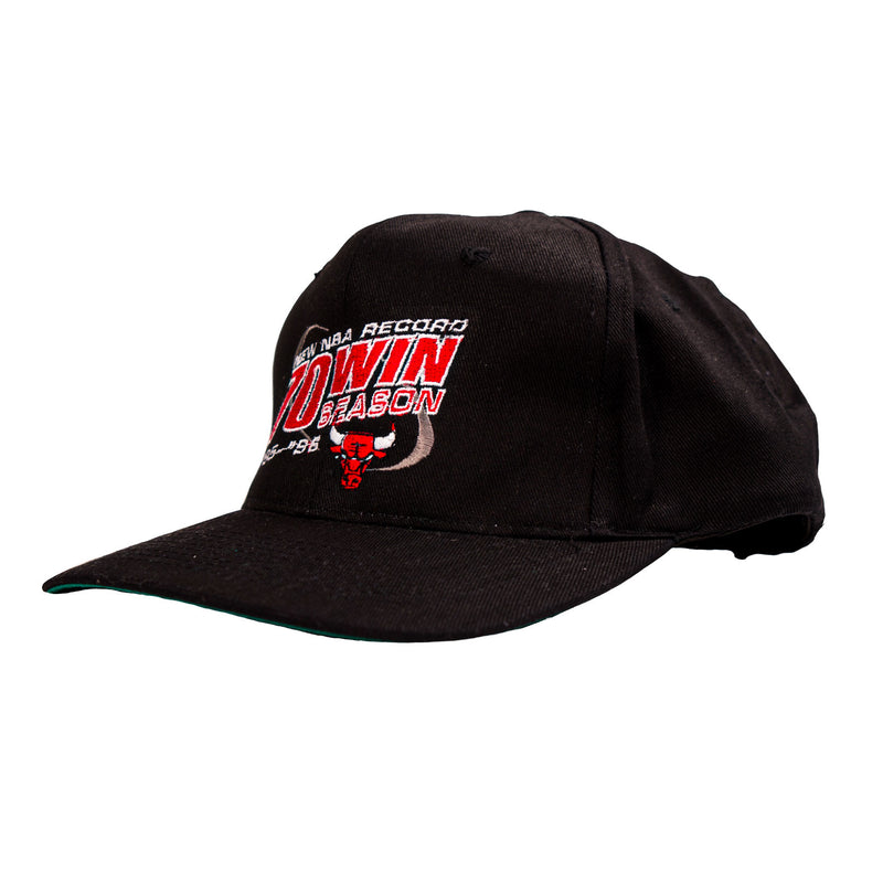 1996 VINTAGE CHICAGO BULLS 70-WIN SEASON CAP