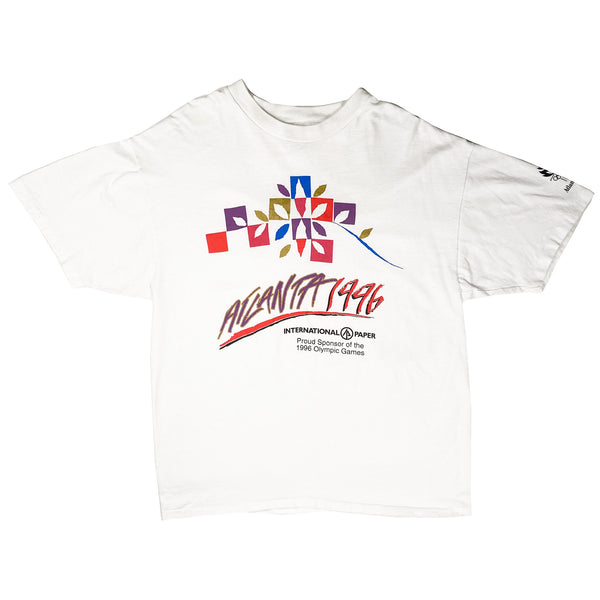 1996 VINTAGE ATLANTA OLYMPIC GAMES TEE