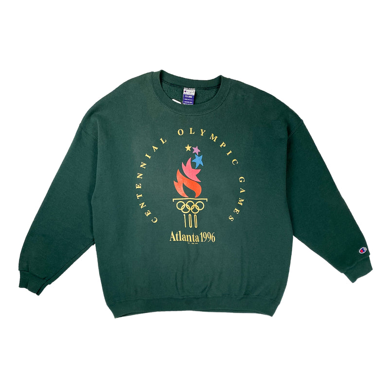 1996 VINTAGE ATLANTA OLYMPIC GAMES CHAMPION CREWNECK