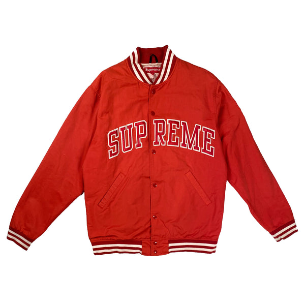 SUPREME X STARTER VARSITY APPLE JACKET