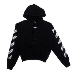 OFF-WHITE AIRPORT TAPE ARROWS HOODIE