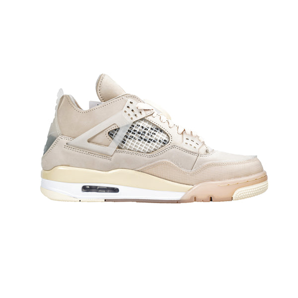 OFF-WHITE NIKE JORDAN 4 RETRO SAIL W