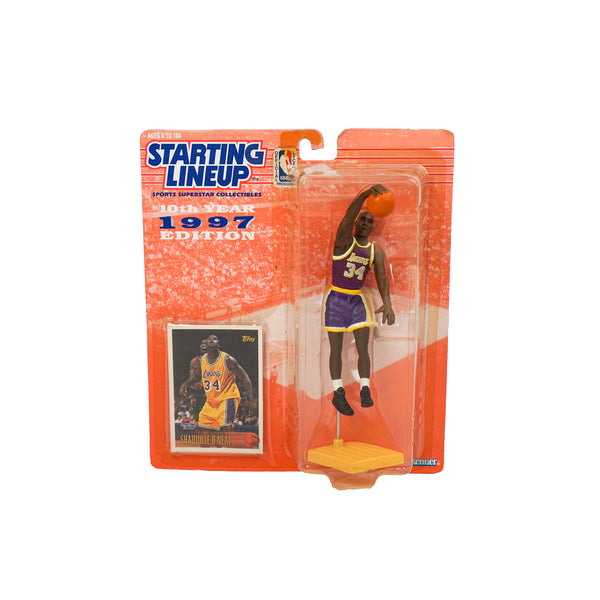 1997 VINTAGE STARTING LINEUP SHAQUILLE O'NEAL FIGURINE