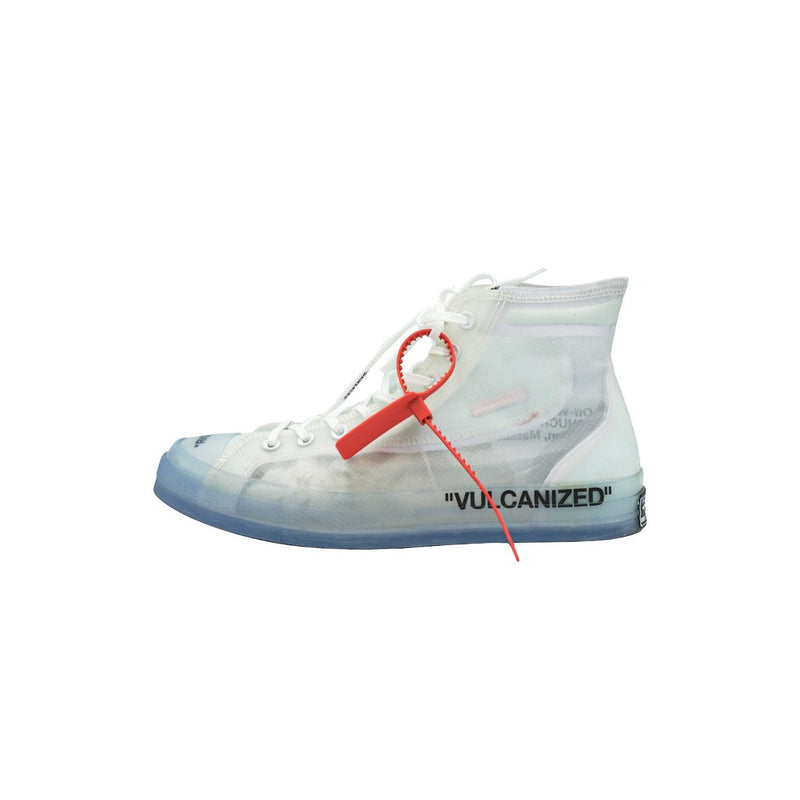 OFF WHITE X CONVERSE CHUCK TAYLOR ALL STAR VULCANIZED HI