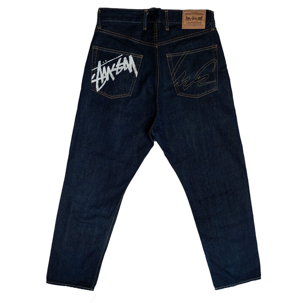 STUSSY X FUTURA LABORATORIES 2000 DENIM JEANS
