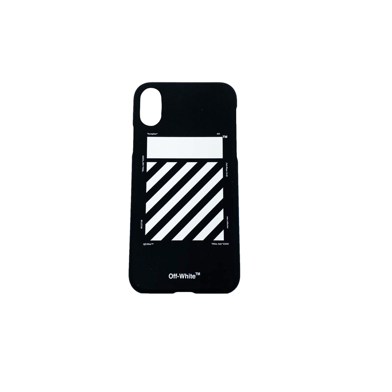 OFF-WHITE IPHONE X DIAGONAL CASE