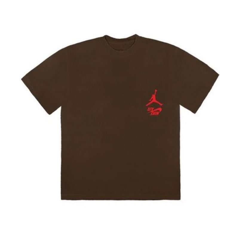 TRAVIS SCOTT JORDAN CACTUS HIGHEST T-SHIRT BROWN