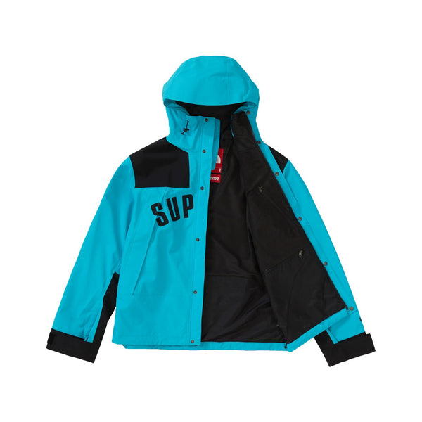 SS19 SUPREME THE NORTH FACE ARC LOGO MOUNTAIN PARKA TEAL