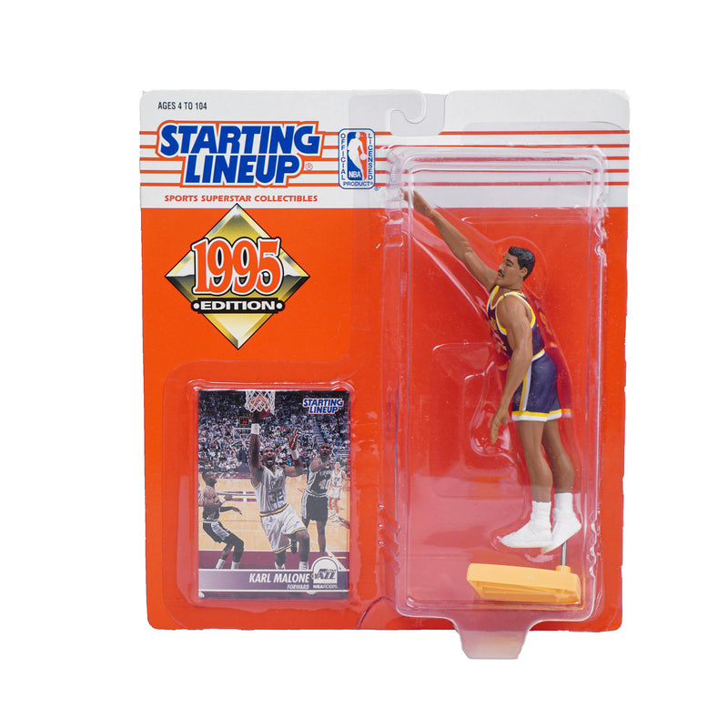 1995 STARTING LINEUP KARL MALONE FIGURINE