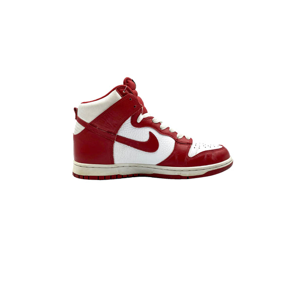 2009 NIKE DUNK HIGH VARSITY RED WHITE