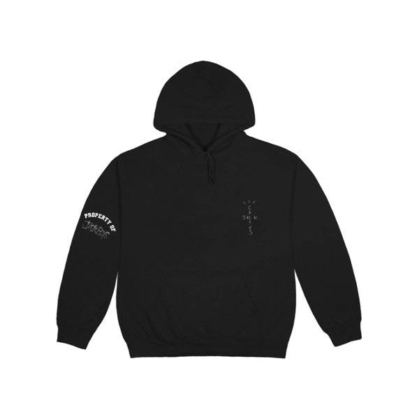 TRAVIS SCOTT JACK BOYS REALITY HOODIE BLACK