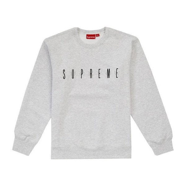 SUPREME FUCK YOU CREWNECK ASH GREY