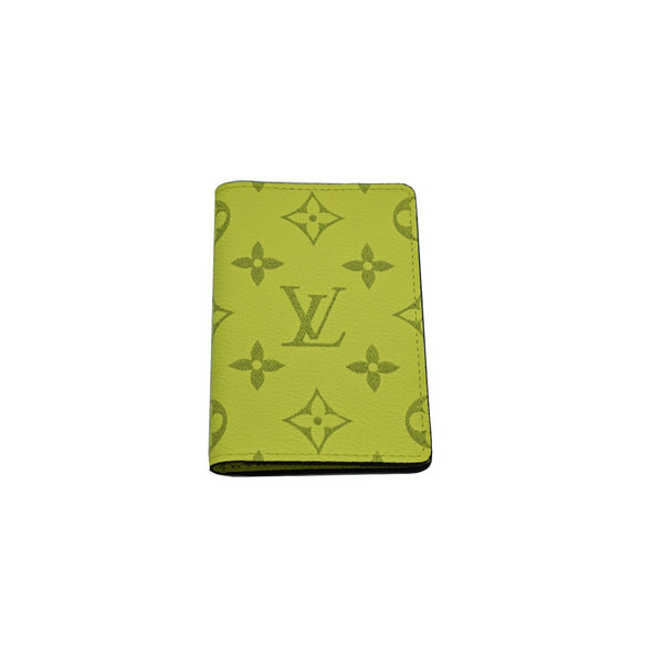 LOUIS VUITTON (VIRGIL ABLOH) POCKET ORGANIZER MONOGRAM BAHIA YELLOW