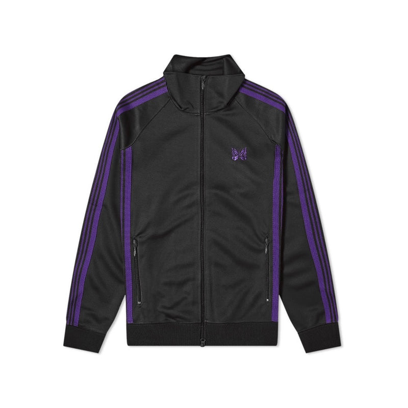 NEEDLES POLY TRACK JACKET BLACK