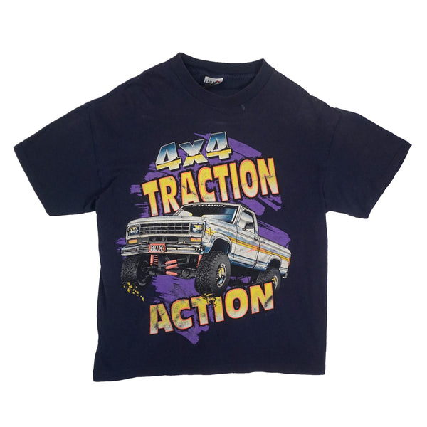 90'S VINTAGE 4x4 TRACTION ACTION TEE