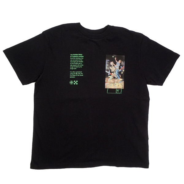 OFF-WHITE PASCAL PAINTING TEE BLACK