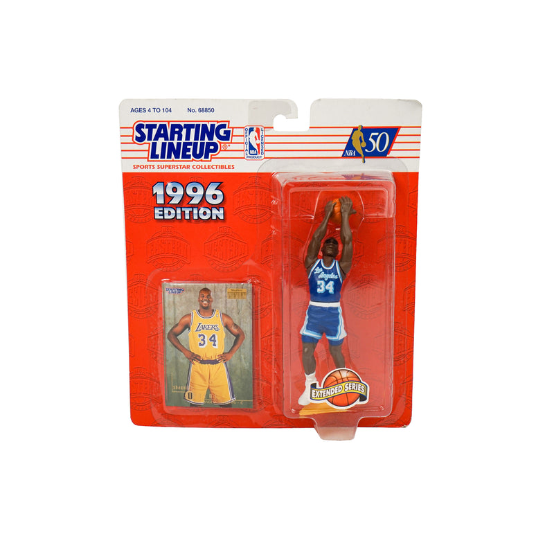 1996 VINTAGE STARTING LINEUP SHAQUILLE O'NEAL FIGURINE