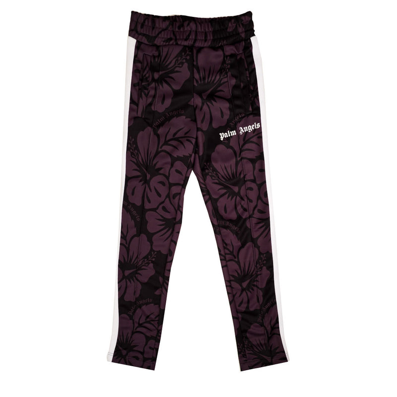 PALM ANGELS TAPED FLORAL TRACK PANT