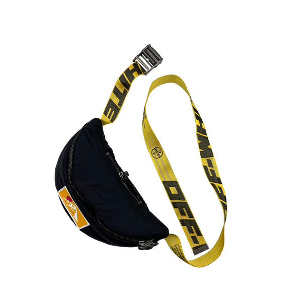 OFF-WHITE PUFFY NYLON WAIST BAG