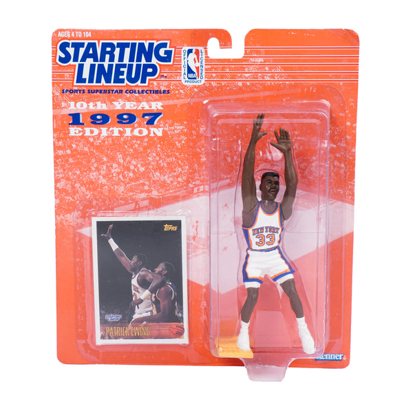 1997 VINTAGE 10TH EDITION STARTING LINEUP PATRICK EWING FIGURINE