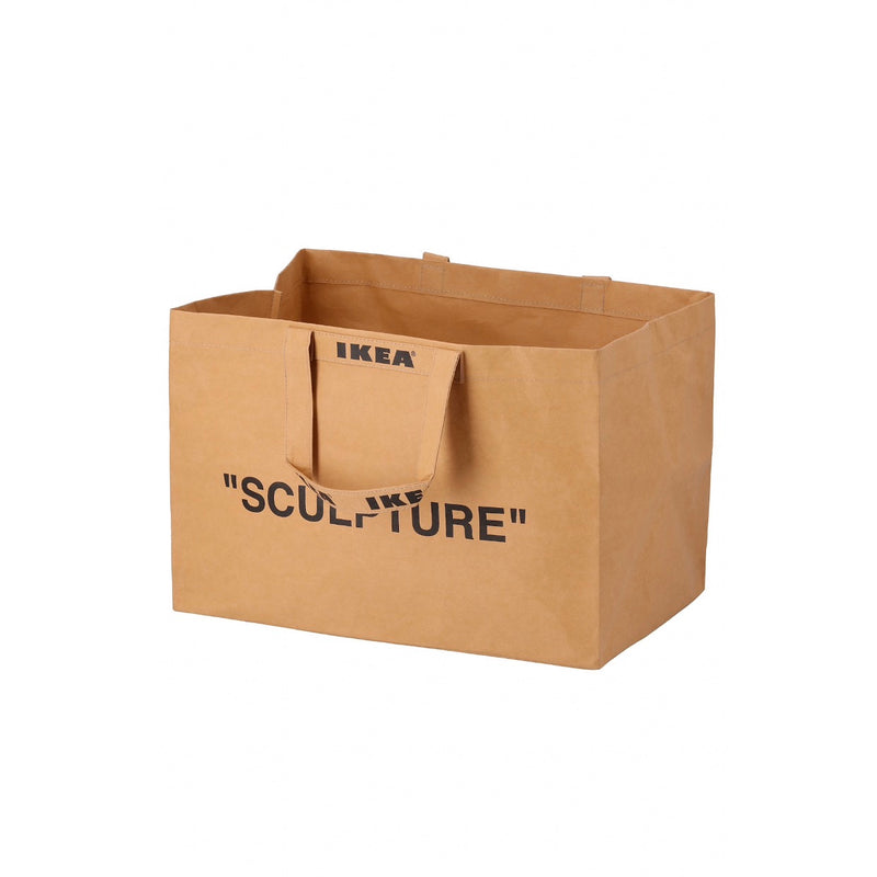 VIRGIL ABLOH X IKEA MARKERAD LARGE BROWN BAG