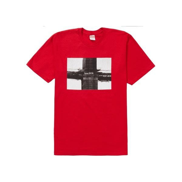 SUPREME BRIDGE TEE RED