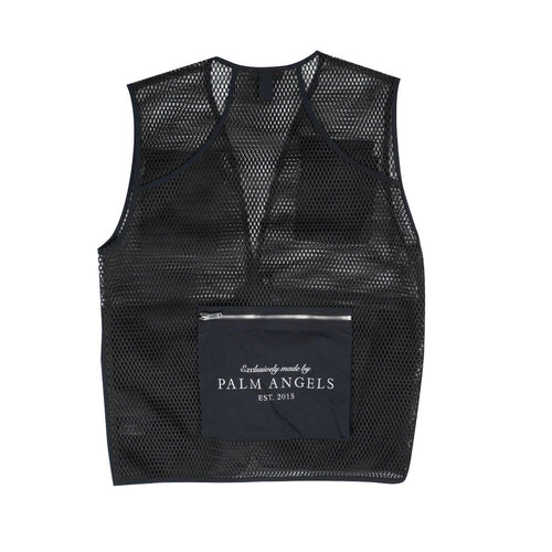 PALM ANGELS UTILITY HUNTING MESH VEST