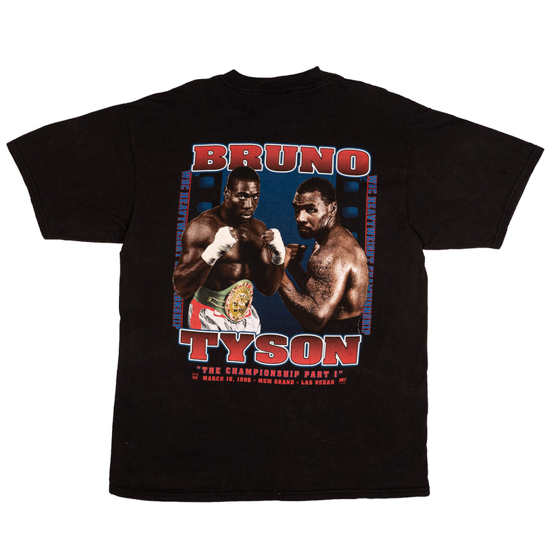 1996 VINTAGE MGM BRUNO VS. TYSON BOXING TEE