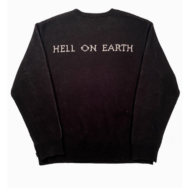 SUPREME HELLRAISER SWEATER BLACK