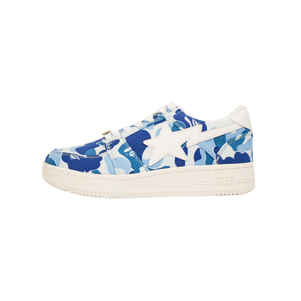 A BATHING APE BAPESTA ABC CAMO 20TH ANNIVERSARY BLUE