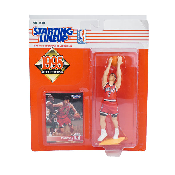 1995 STARTING LINEUP TONI KUKOC FIGURINE