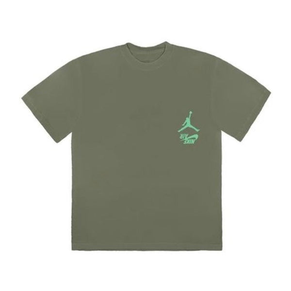 TRAVIS SCOTT JORDAN CACTUS HIGHEST T-SHIRT OLIVE