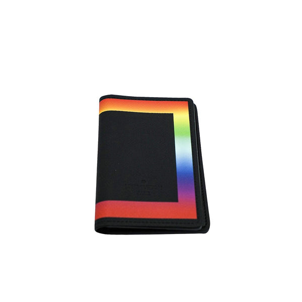 LOUIS VUITTON  POCKET ORGANIZER TAIGA BLACK/RAINBOW