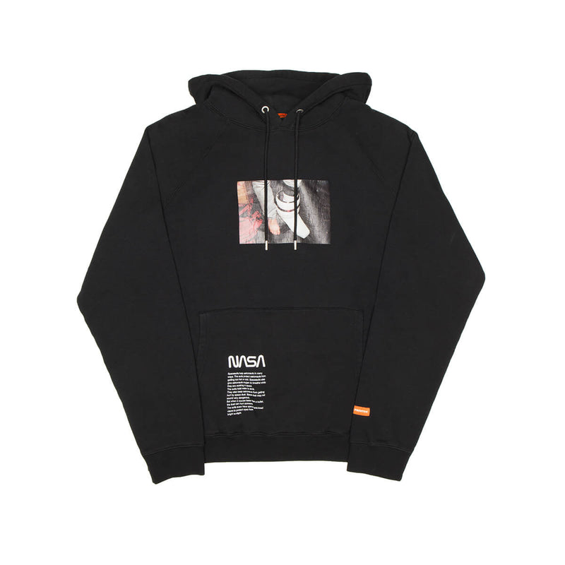 HERON PRESTON NASA RAGLAN PHOTO HOODIE