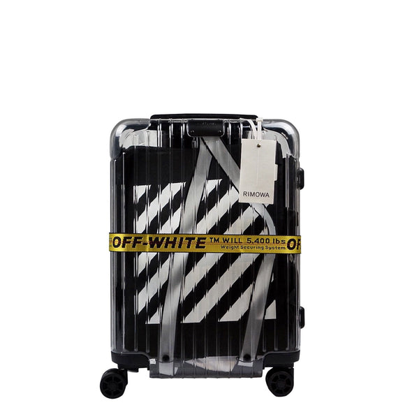 OFF WHITE X RIMOWA SEE THROUGH 36L CASE BLACK