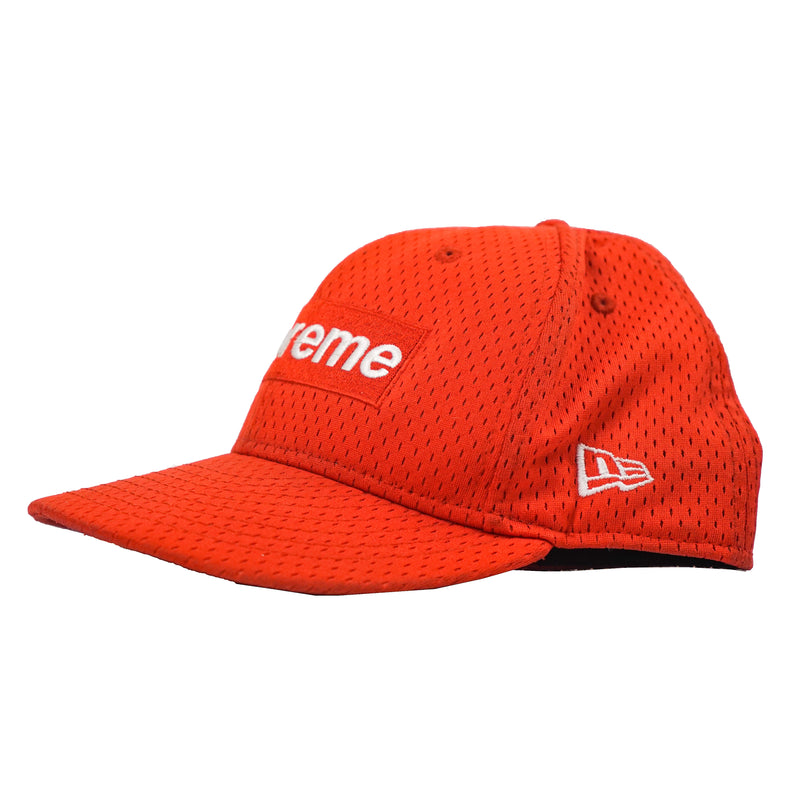 SUPREME NEW ERA MESH BOX LOGO CAP RED