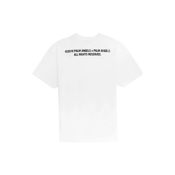 "PALM ANGELS SMALL ""PALM X PALM"" T-SHIRT WHITE"